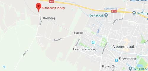 Autobedrijf Grootveld & Ploeg - route
